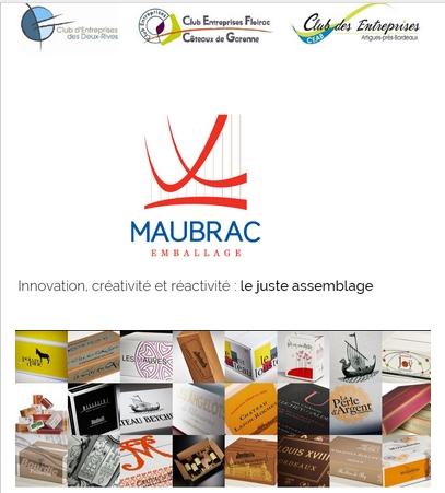 Visite de Maubrac Emballage le JEUDI 23 avril à 11h15