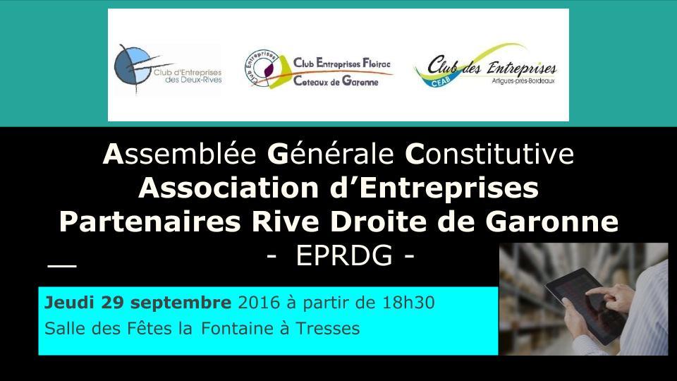 Constitution de la Nouvelle Association et Assemblées Générales Extraordinaires 29 Sept. 2016
