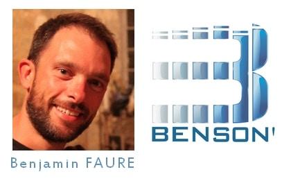Bienvenue à Benjamin FAURE entre son et lumière