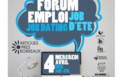 Forum de l'Emploi Artigues-près-Bordeaux Mercredi 04 Avril 2018