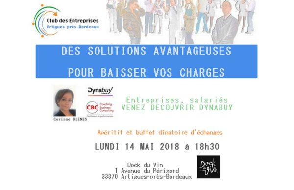 Présentation de Dynabuy le 14 Mai 2018 à Dock du Vin Artigues-près-Bordeaux