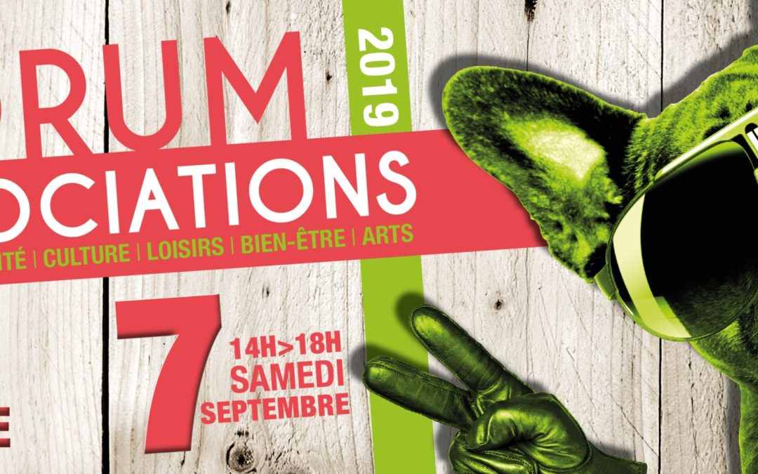 Forum des ASSOCIATIONS ARTIGUAISES  le 07 SEPTEMBRE 2019  Parc de la Mairie