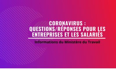 L'info aux Entreprises  : COVID-19 , Ministère du Travail, Philippe LASSERRE,  EXPERTS & SOLUTIONS