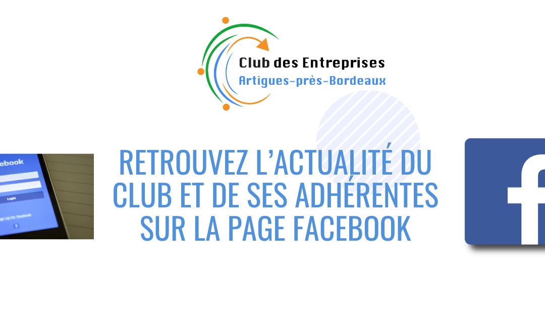 + d'Actualités du Club et de ses adhérent.e.s sur la Page Facebook